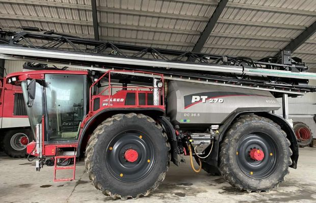 Working capital loan backed with self-propelled sprayer Horsch Leeb PT270