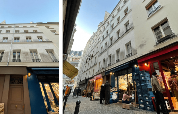 Paris rue du Nil by Groupe Weiss